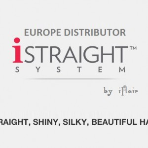istraight system: straight, shiny, silky, beautiful hair
