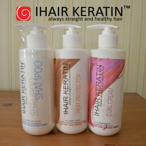3 produse noi Ihair Keratin