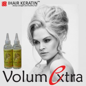 Volum la radacina cu noul tratament VolumExtra de la IHAIR KERATIN