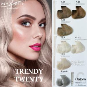 Descopera noua linie de vopsea profesioanala lansata de Maxxelle: Trendy Twenty!