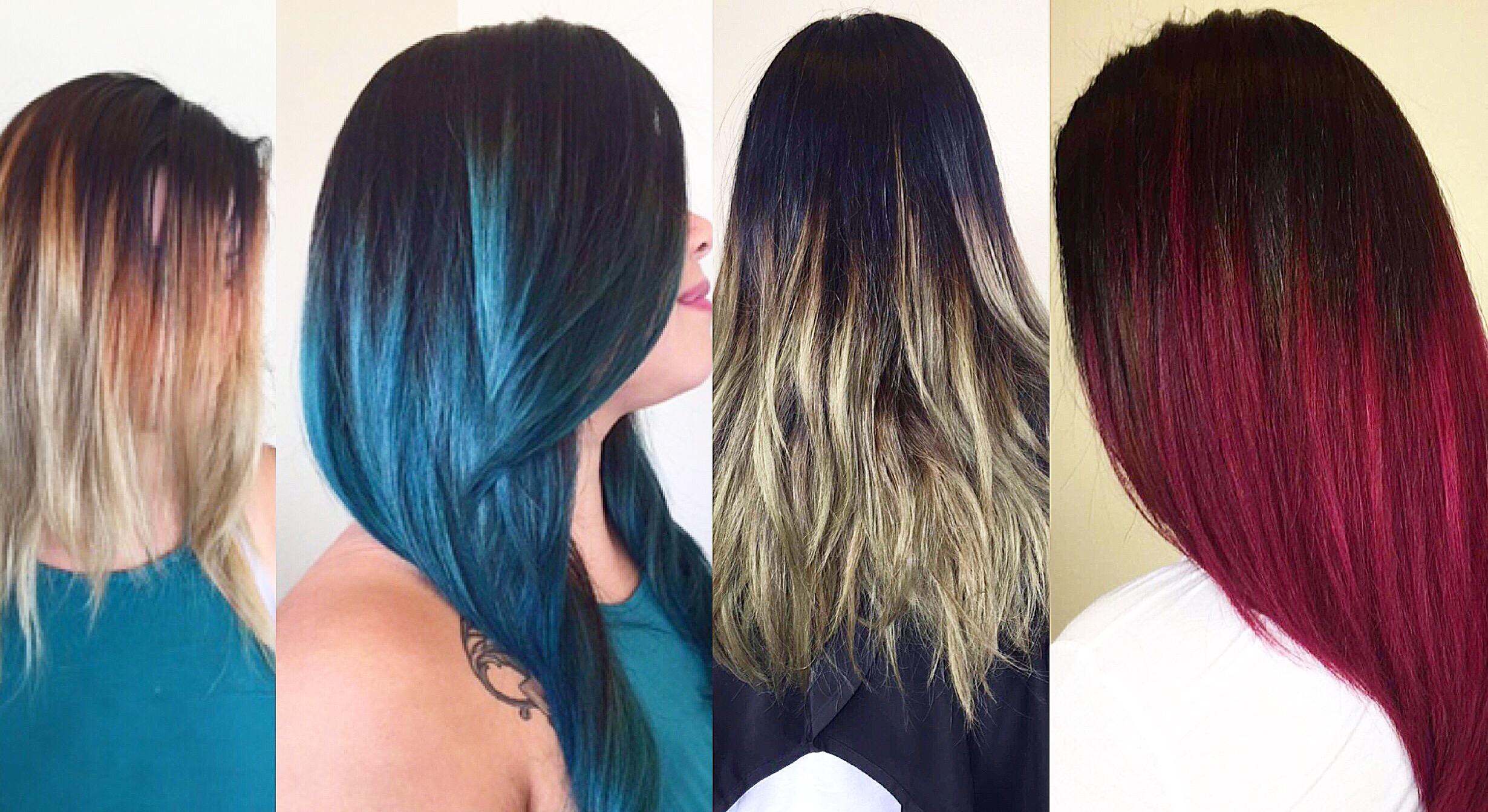 schimbare de culoare
